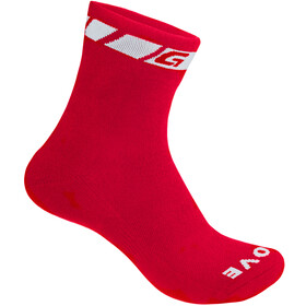 GripGrab Spring/Fall Chaussettes de mi-saison, red